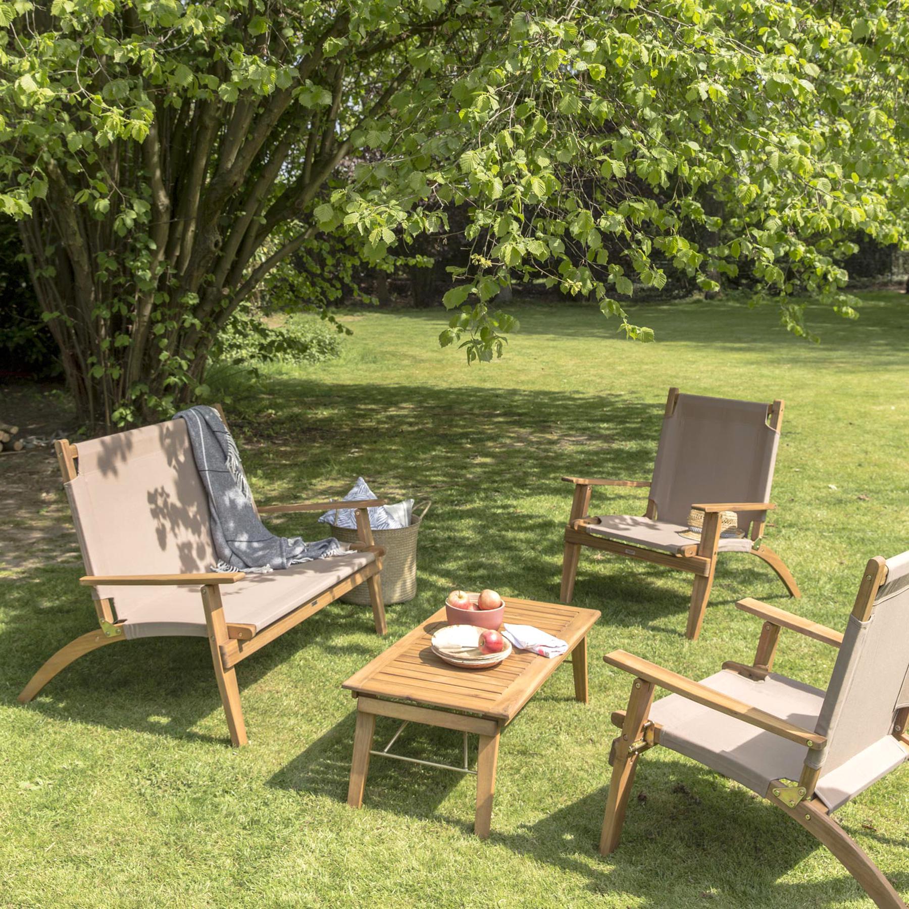 Salon Jardin Bois d\'occasion | Plus que 3 à -65%