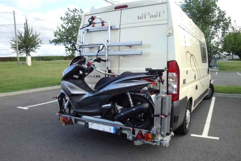 porte scooter camping car scooter camping d'occasion