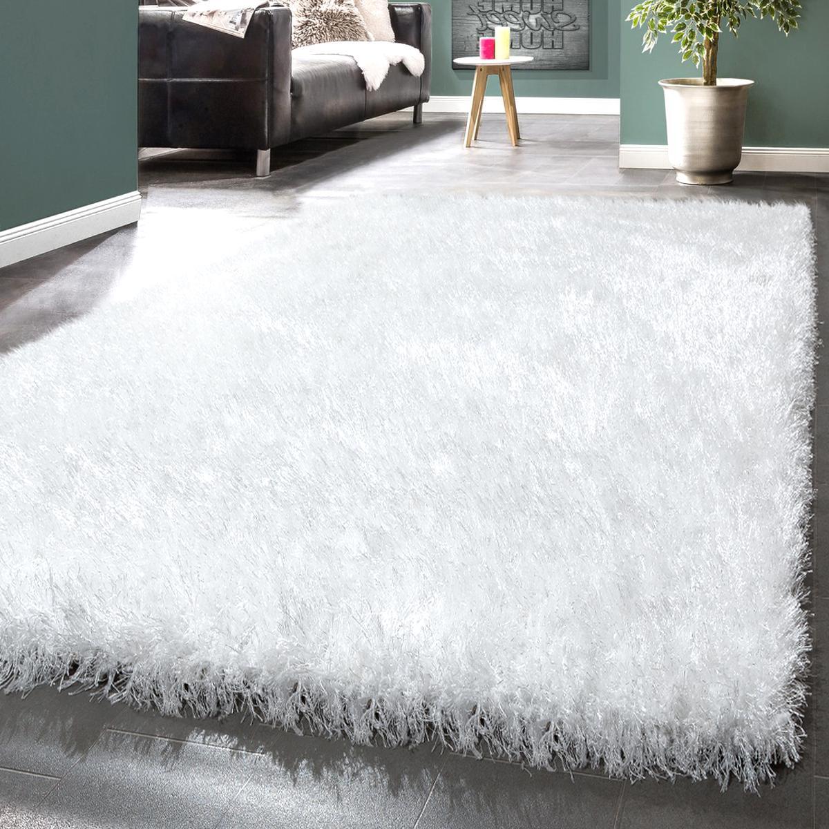 Tapis Long Poil Blanc tapis poil long blanc d'occasion