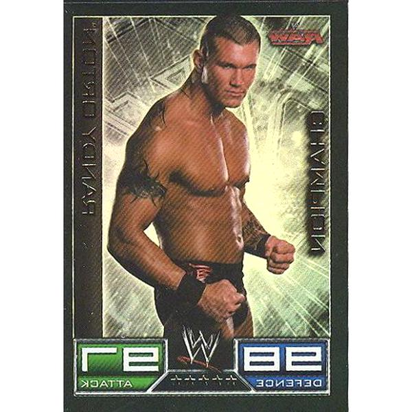 save up to 80% premium selection new photos Carte Catch Randy Orton Champion Orton d'occasion