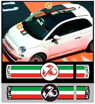 stickers fiat d'occasion