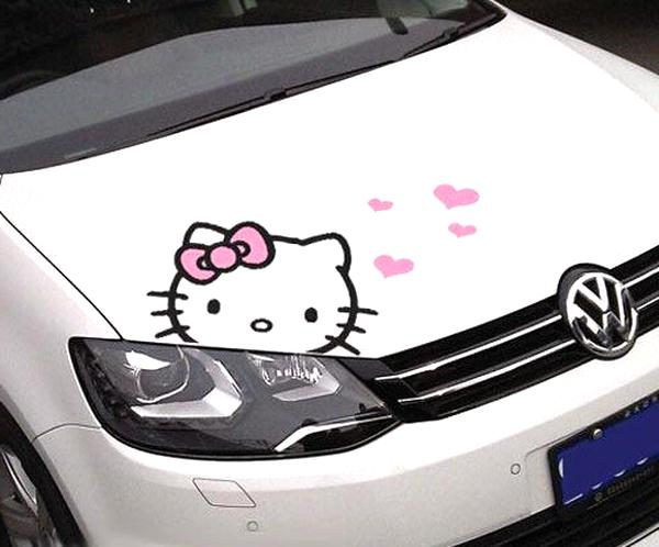 stickers voiture hello kitty d'occasion