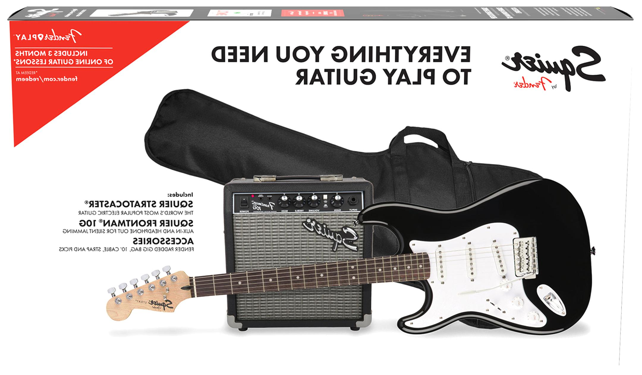 pack guitare electrique fender d'occasion
