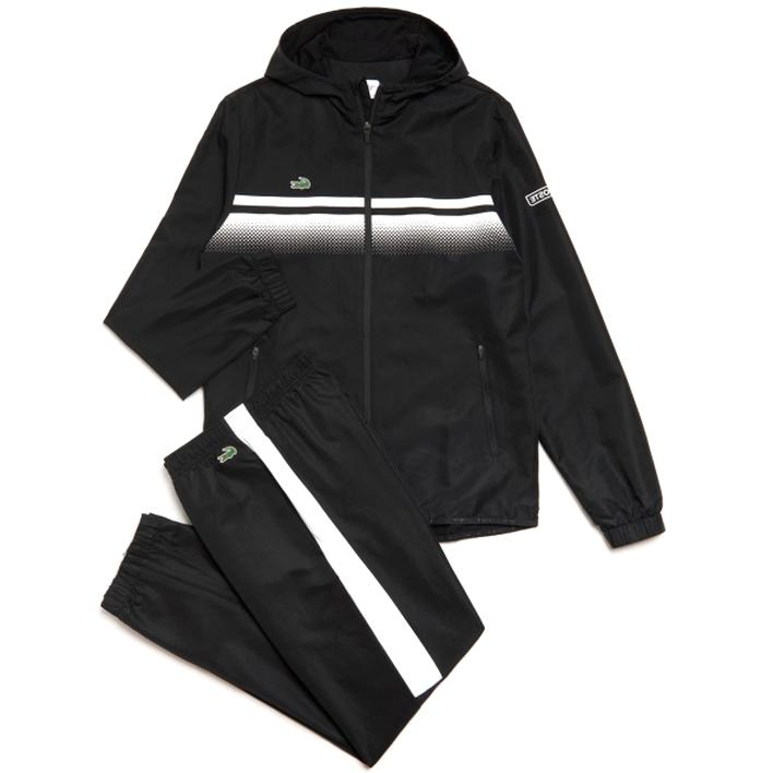 super cheap buying now hot sale online Survêtement Lacoste XL noir neuf