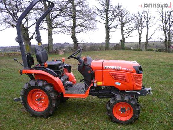 micro tracteur kubota b2420 d'occasion