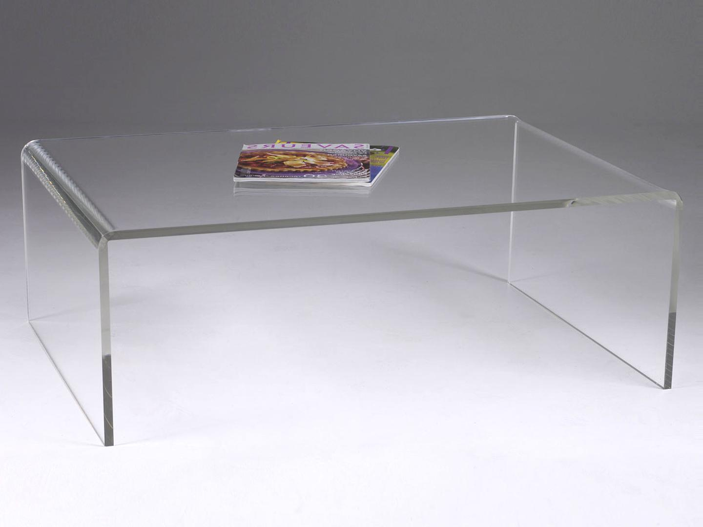 Table Basse Plexi Transparent D Occasion