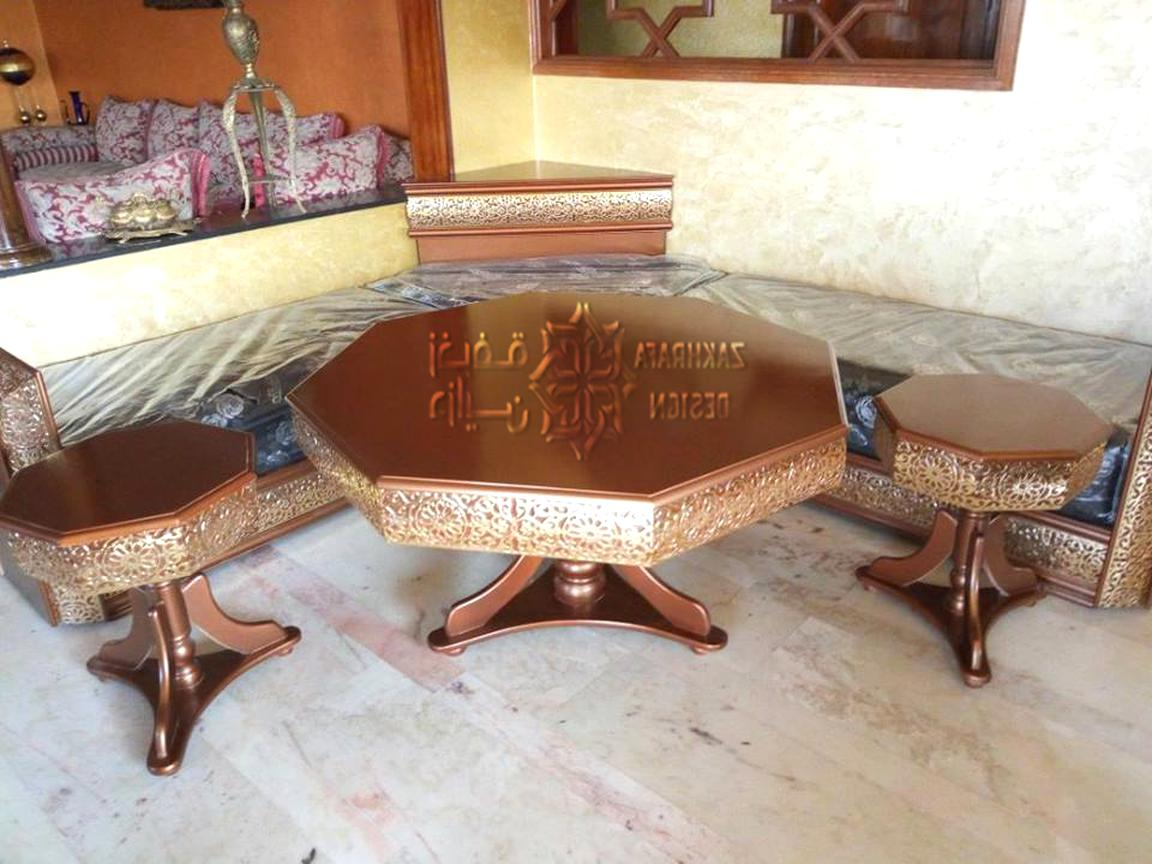 table salon marocain d'occasion