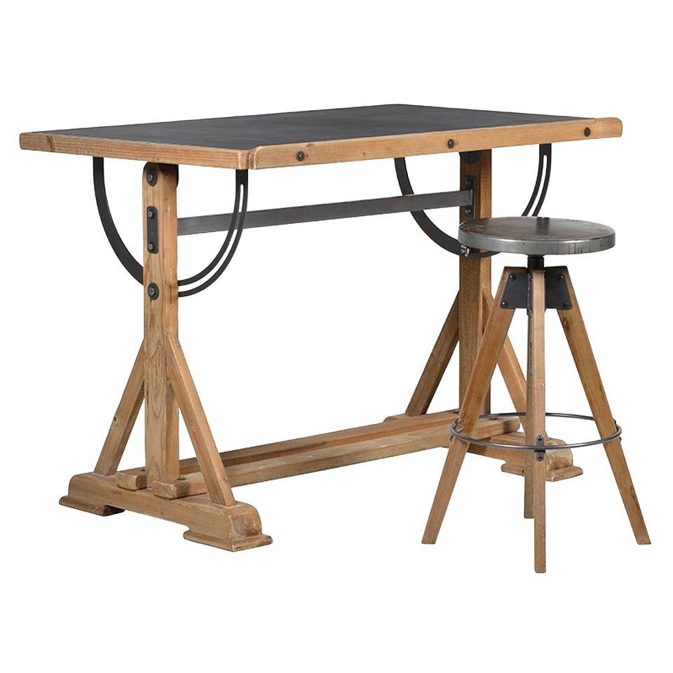 table architecte bois d'occasion