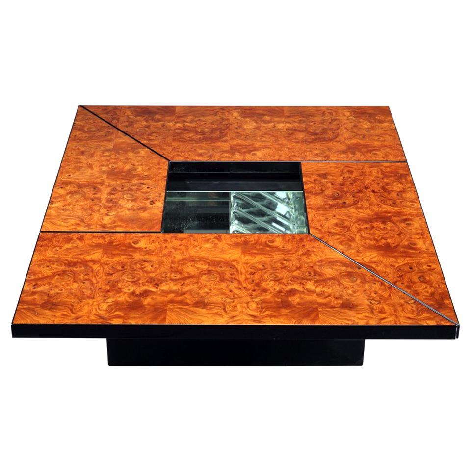 Table Basse Terrarium A Vendre table basse bar loupe d'occasion