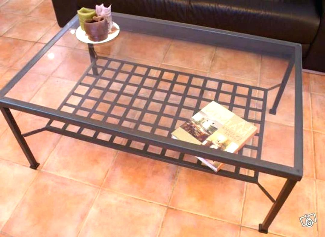 Table Basse Fer Forge Ikea D Occasion
