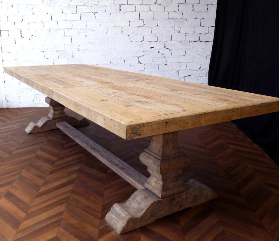 Table Bois Massif Ancienne Doccasion