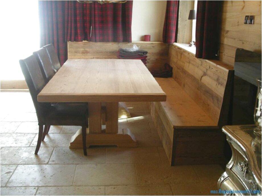 Table cuisine banc d angle d occasion Table de cuisine avec banc d angle