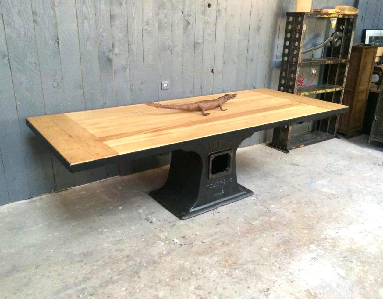 Pied De Table En Fonte.Pied Fonte Table