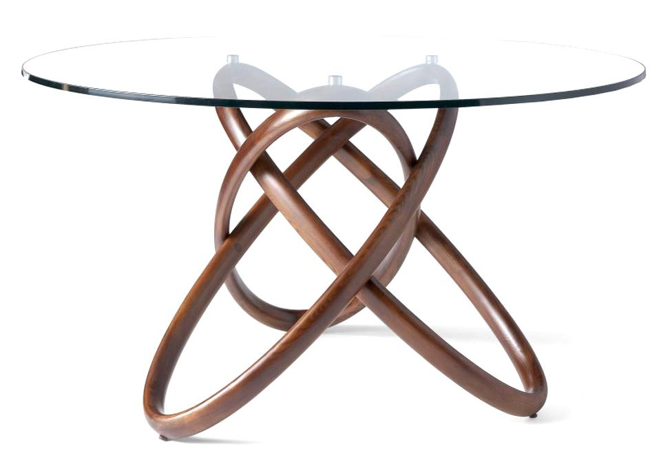 Table Ronde Plateau Verre.Table Ronde Verre