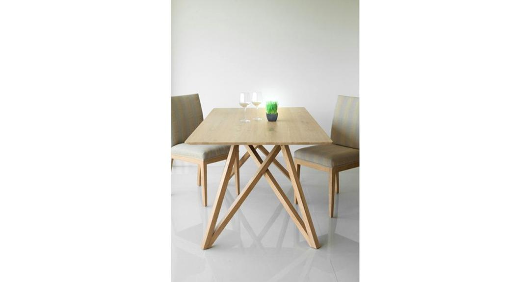table scandinave chene d'occasion