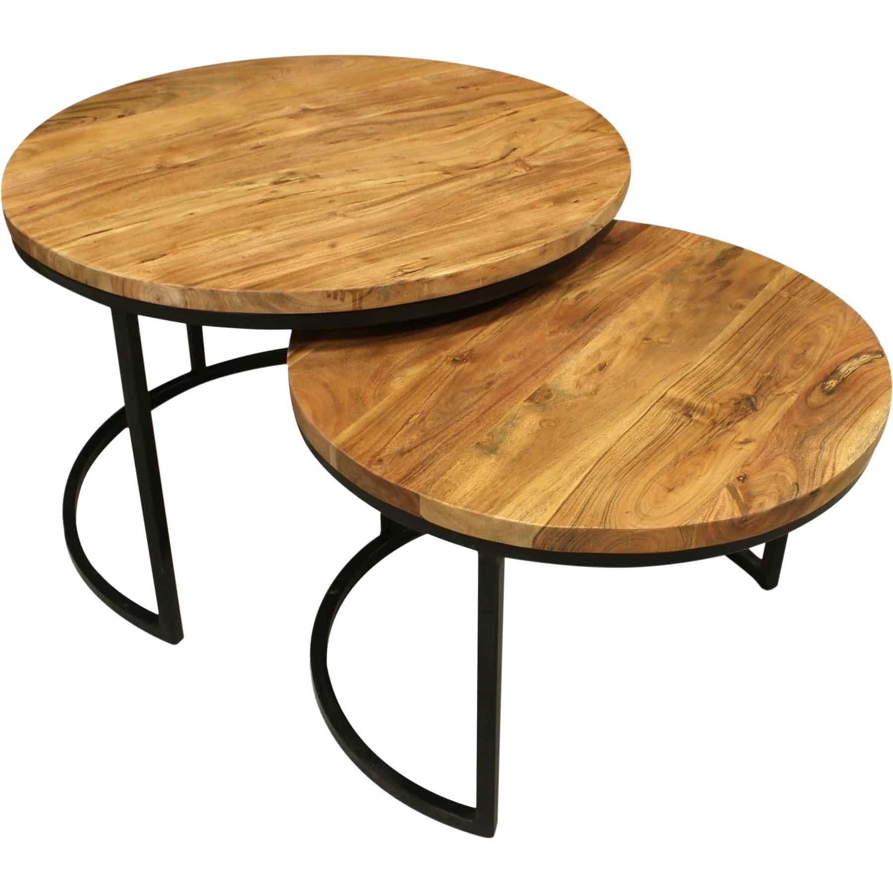 Table Basse Gigogne Bois.Table Basse Gigogne Bois