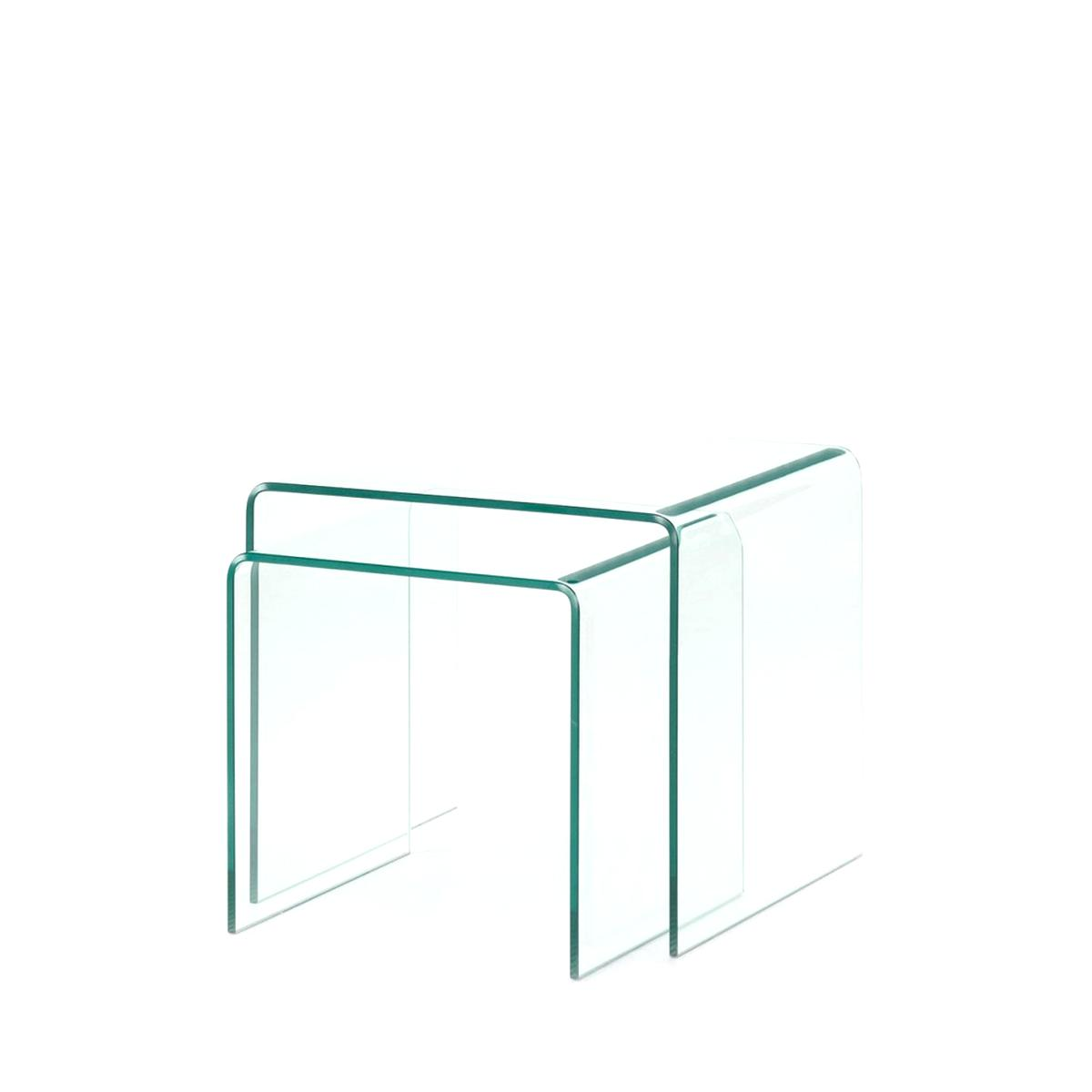 Table Table Gigogne Basse d'occasion Verre Basse Verre Gigogne Table d'occasion lKc5F3uT1J
