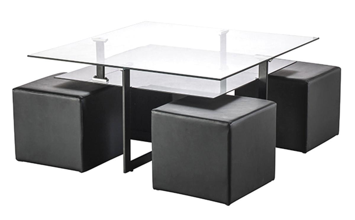 Table Basse 4 Poufs D Occasion