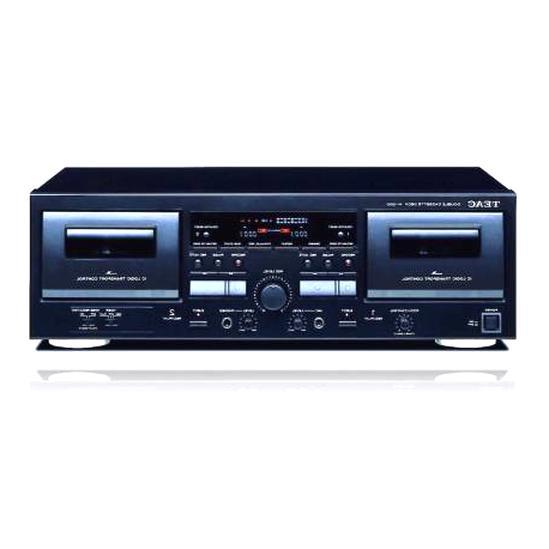 platine cassette double d'occasion