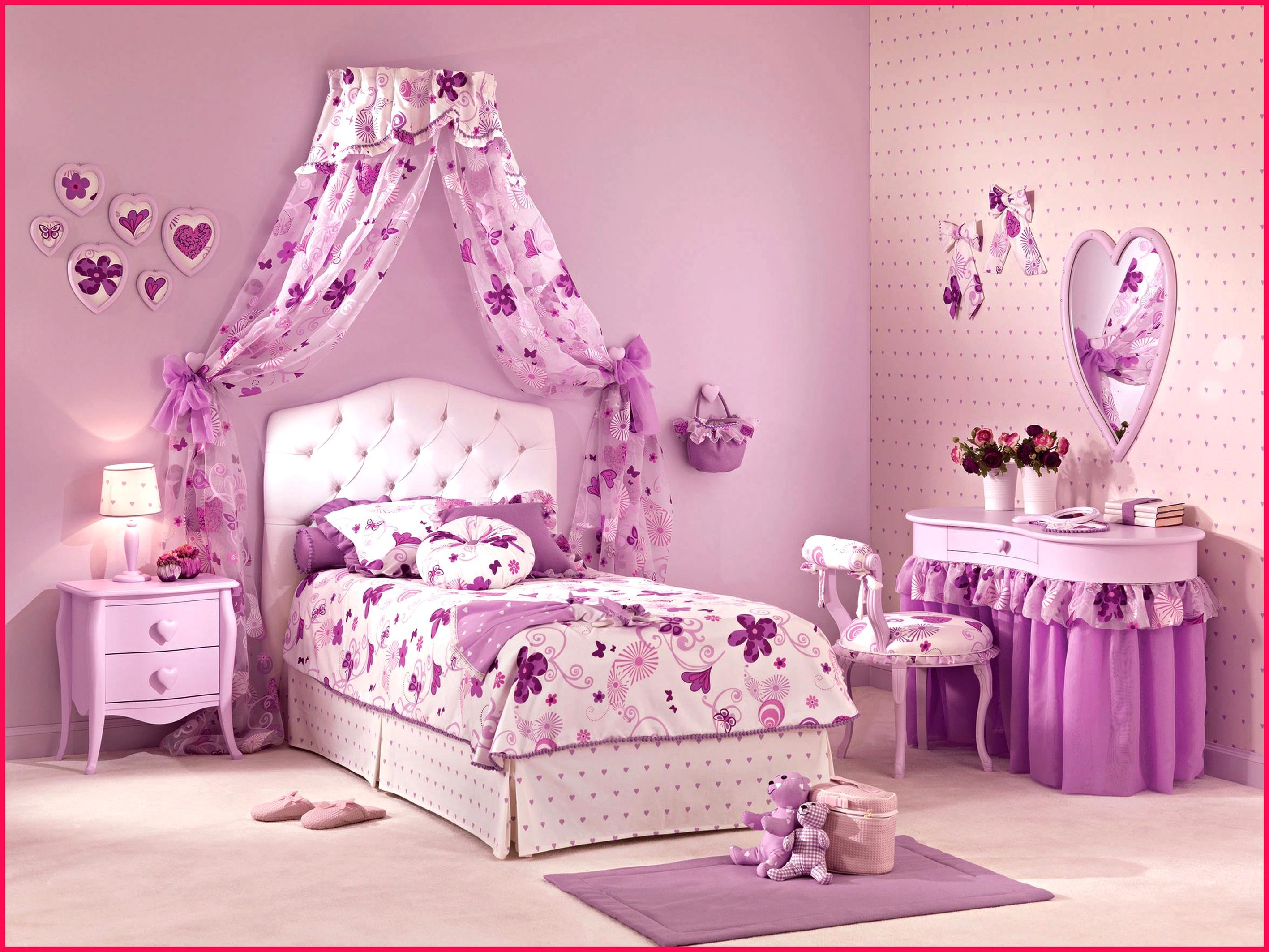Tête de Lit Blanc & Rose Chambre 3020 H345 PRINCESSES ...