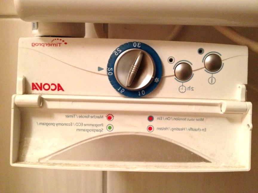 thermostat seche serviette acova d'occasion