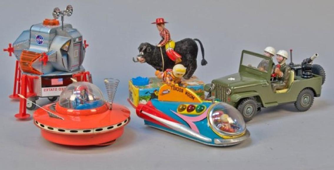 tin toy japan d'occasion