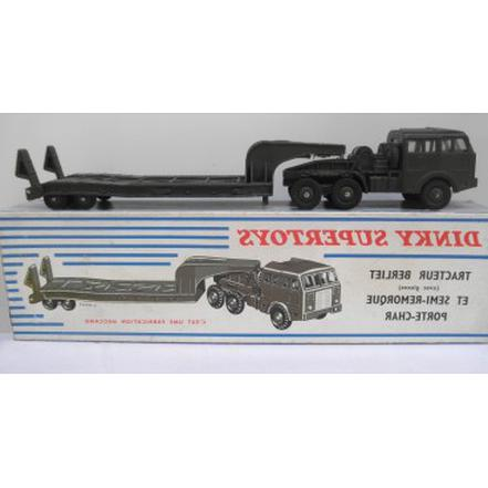 porte char dinky toys militaire d'occasion