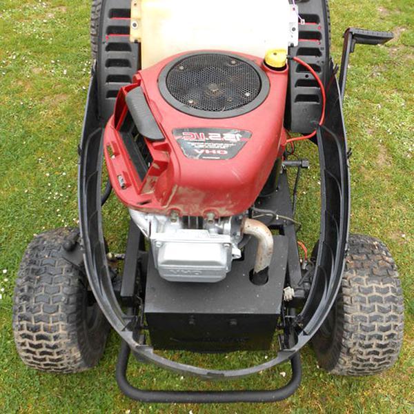 moteur tracteur tondeuse tondeuse d'occasion