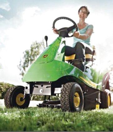 tracteur tondeuse autoportee john deere d'occasion