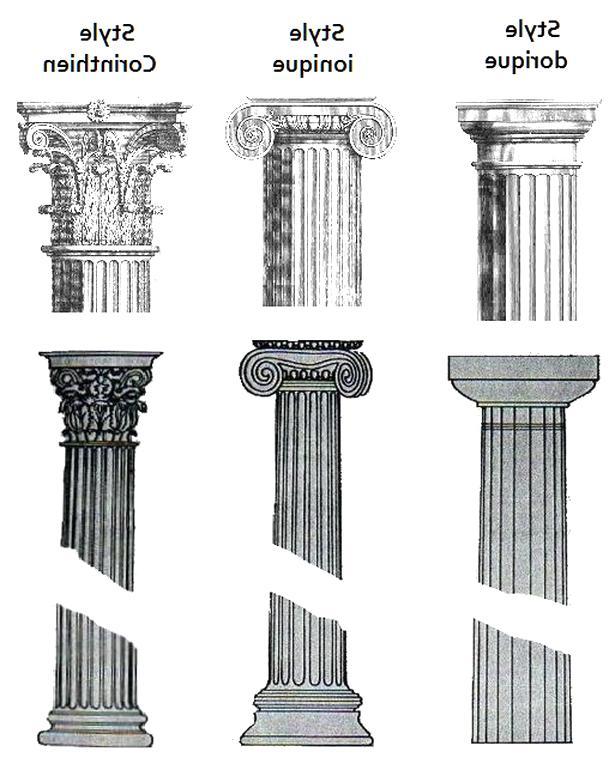 colonnes grecques d'occasion