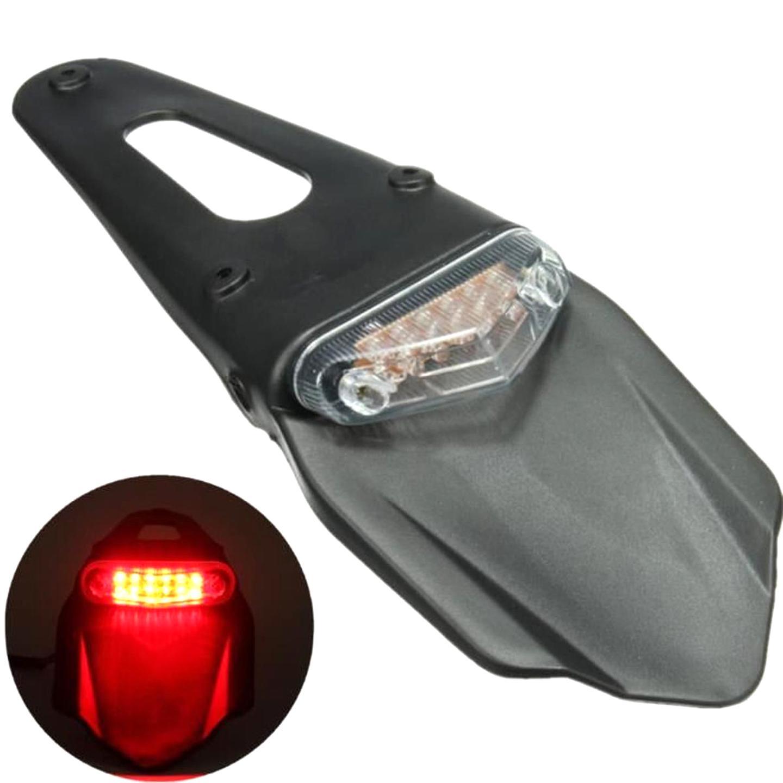HANEU Feu Arri/ère Moto /à LED Freinage /éclairage Phare Plaque de Frein pour