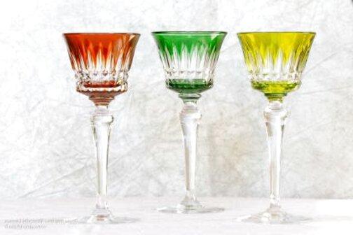 verres a pied couleur d'occasion