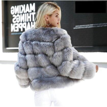 veste fourrure vintage femme d'occasion