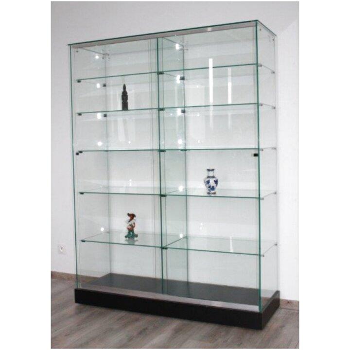 vitrine verre vitrine magasin d'occasion
