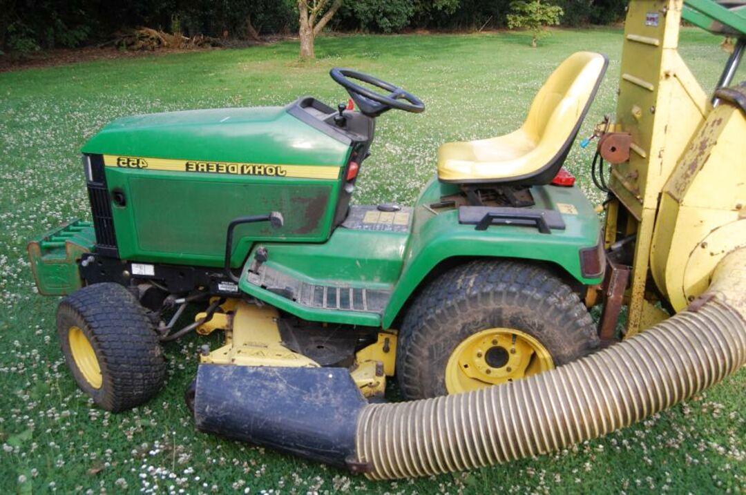 john deere diesel tracteur tondeuse d'occasion